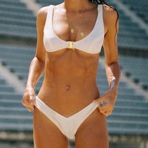 Sommer Swim Bikini Hosk bottom & Crawford top M L